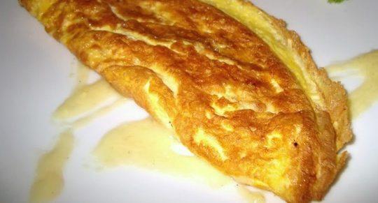omleta cu cascaval berceni
